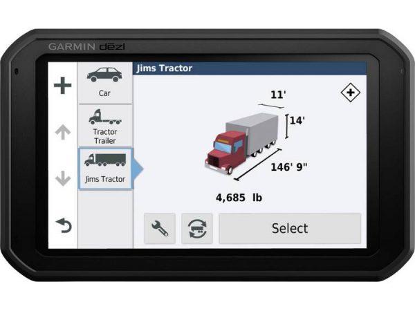 """Garmin dÄ""""zlâ""""¢ 780 LMT-D Navigatiesysteem voor vrachtwagens 17.7 cm 6.95 inch Europa"""